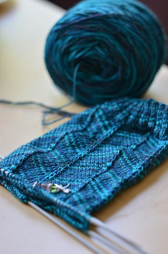 Knitting to Stay Sane | Challenging myself, one stitch at...