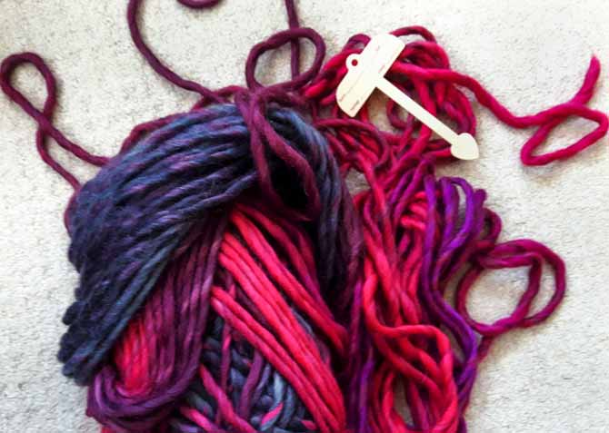My unruly skein of yarn