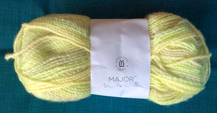 Our work today will focus on the Honeydew colorway of Major