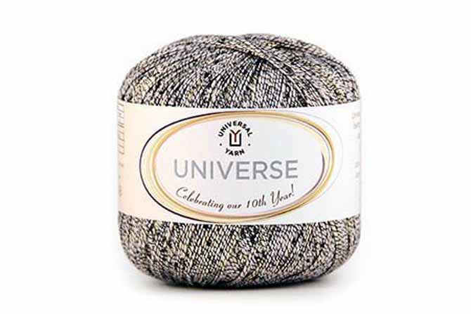 Universe linen-blend yarn by Universal Yarns