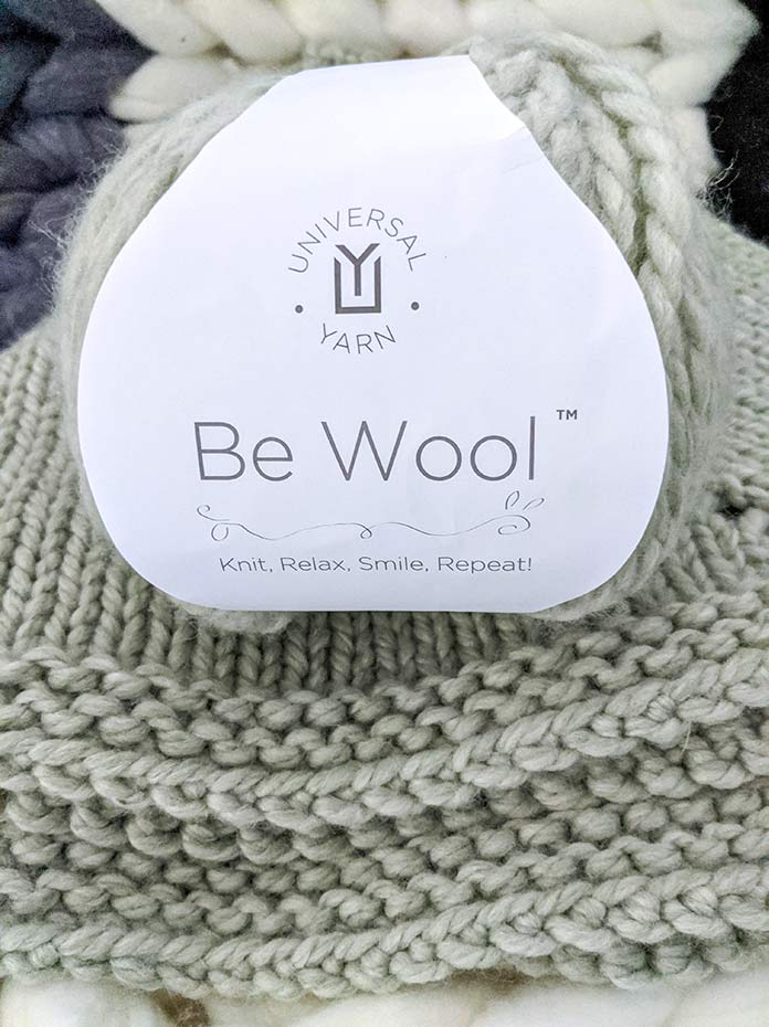A perfect ending to a perfect weekend of knitting with Be Wool