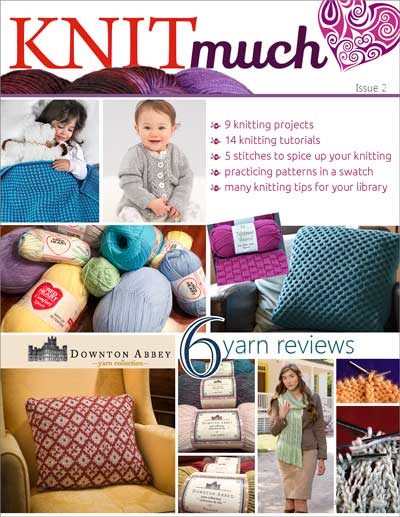 KNITmuch Issue 2 Cover