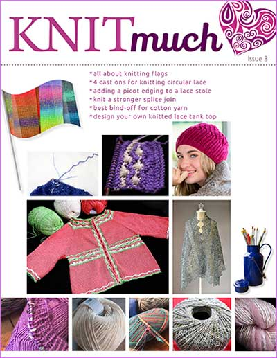 KNITmuch Issue 3 Cover
