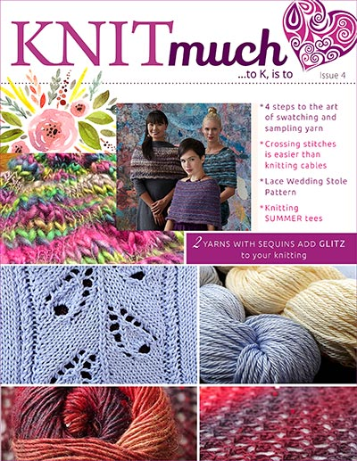 KNITmuch Issue 4 Cover