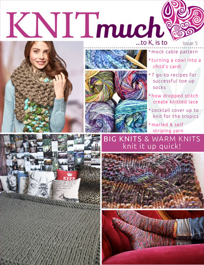 KNITmuch Issue 5 Cover