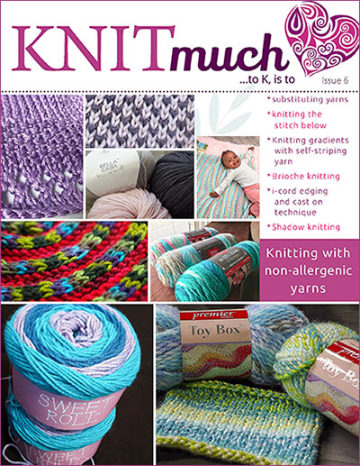 KNITmuch Issue 6 Cover