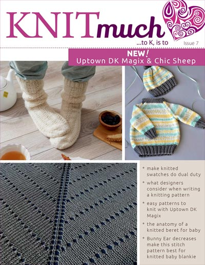 KNITmuch Issue 7 Cover