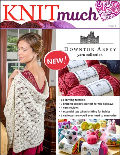 KNITmuch issue 1 Cover Image