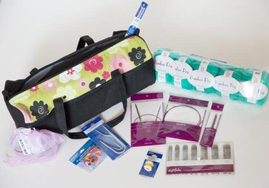 Vivace Knitting Bag & Accessories