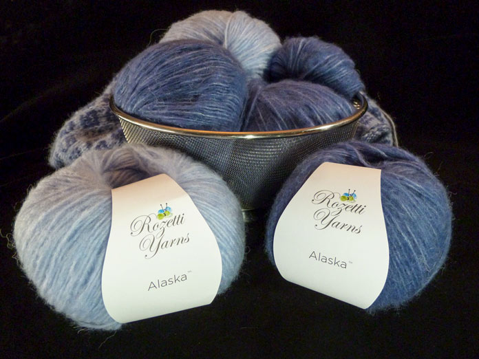 Rozetti Yarns Alaska - as soft and airy as a snowflake