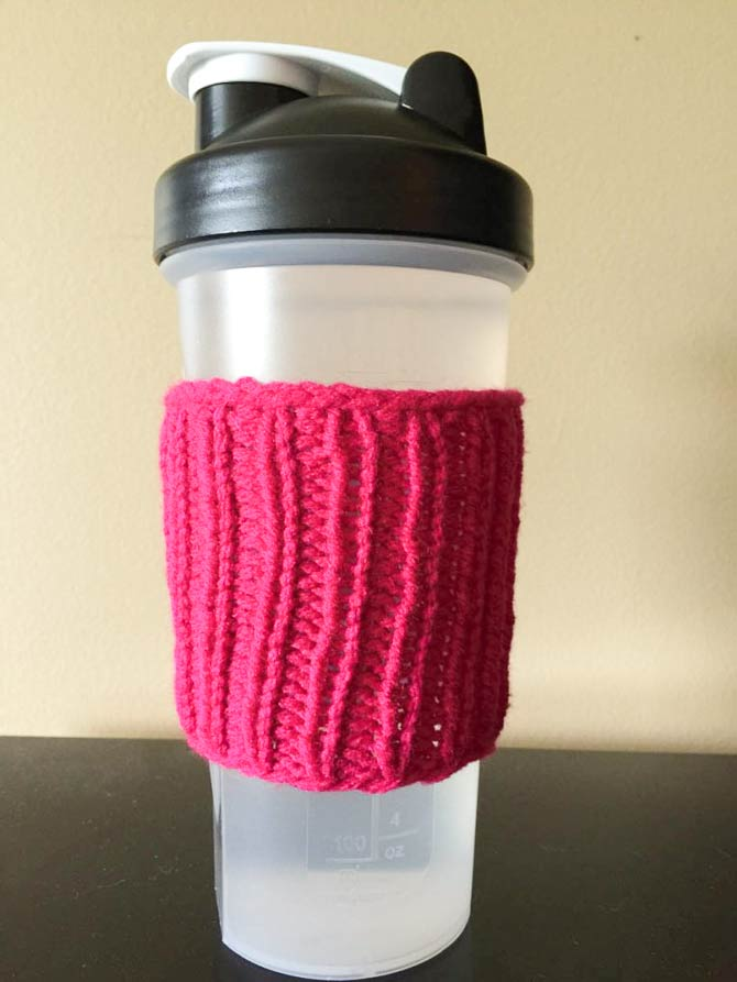 Great for water bottles on track and field day! The cozy will protect hands from condensation.