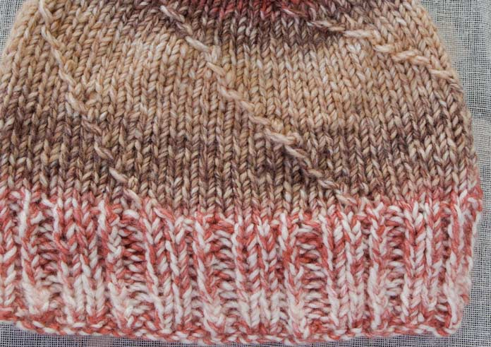 Try this multiple of 5 ribbing to add both twist and a unique look