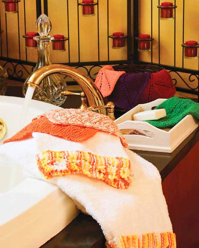 Several practical washcloths would make great gifts