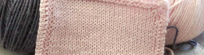 The softness and fineness of Bella Cash yarn really does look great in stockinette stitch.