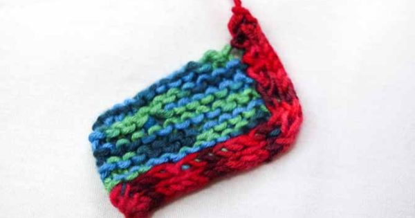 How To Knit On An I Cord Edging