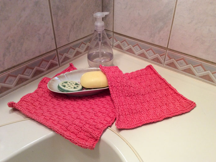 Whether you use these cloths as face cloths or dish cloths, they'll beautify your space.