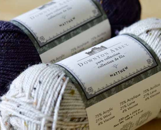 The Matthew yarn is a versatile worsted-weight tweedy blend, great for many different projects!