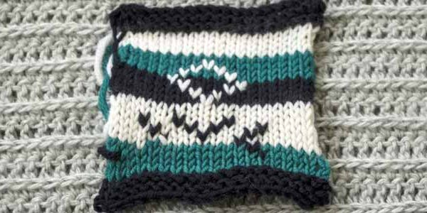 Adding More Stitches Knitting : Duplicate stitches add interest to your knitting