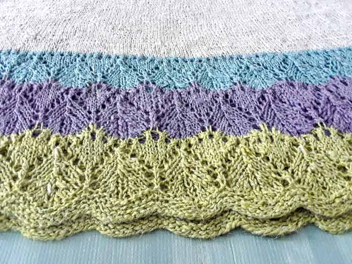 How to make lace fun to knit!