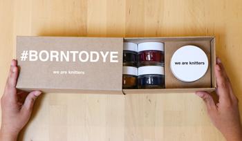 #BornToDye Yarn Hand-Dyeing Kit!