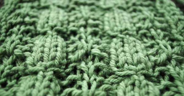 What happens when you knit into rows below