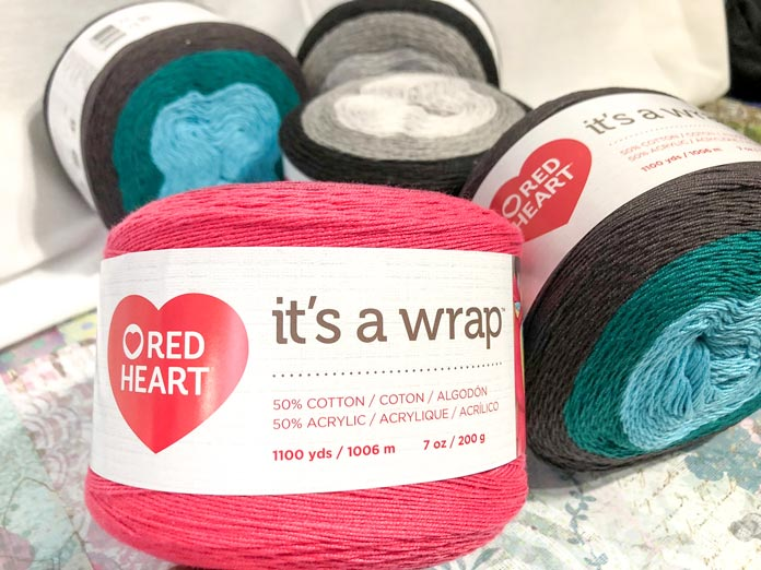 There are patterns that come on all the ball bands for these yarns. They're specifically for that kind of yarn so you cannot go wrong.