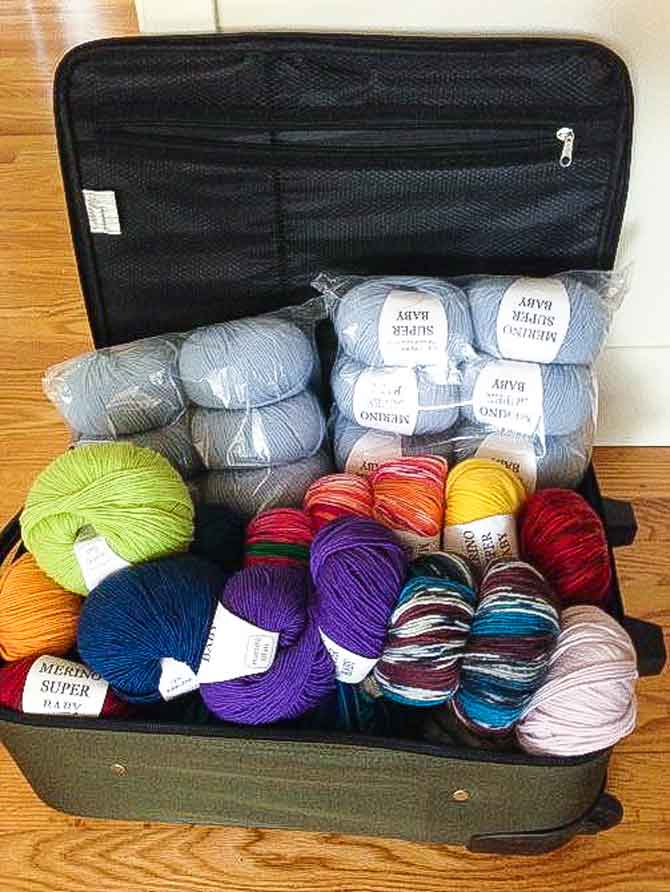 Plenty of wool available!
