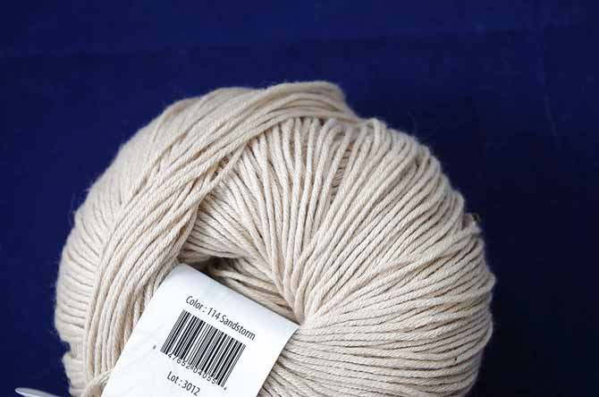 Cotton True Sport Color 114 Sandstone