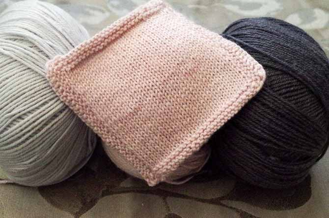 You have to knit with Bella Cash to feel its soft drape, which can't be captured in a photo.