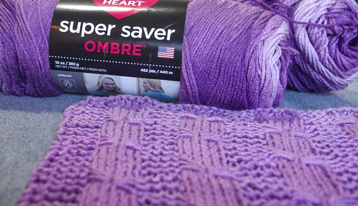 I am so excited to design something with this gradual ombre yarn.