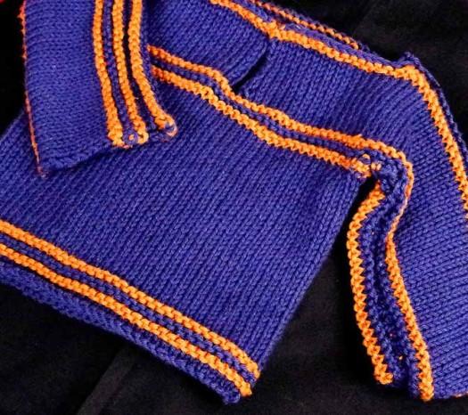 Easy child's sweater