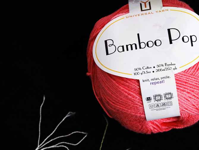 Bamboo Pop sport-weight yarn