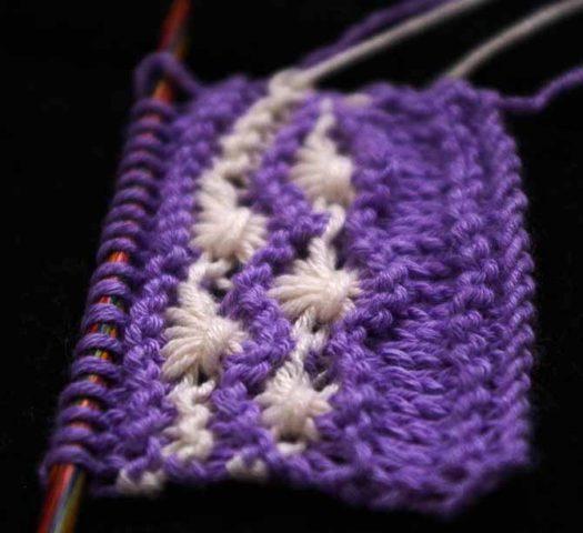 Yarn Sheaves Stitch Pattern