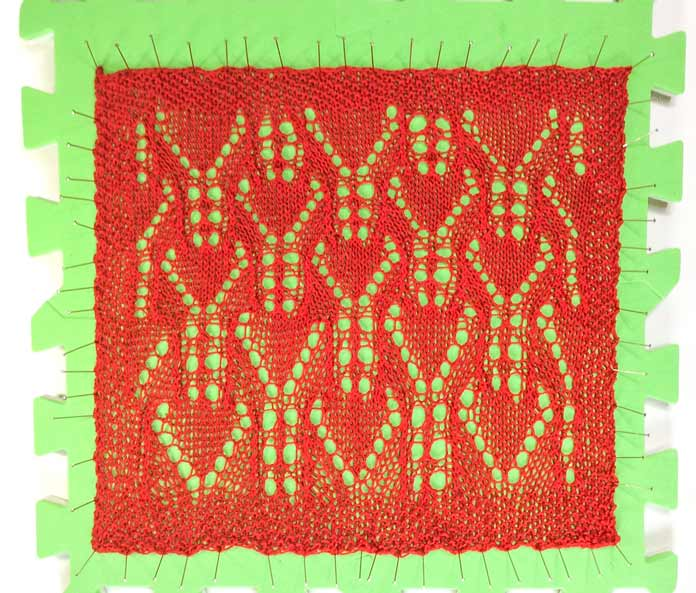 Aunt Lydia's lace knitting secret