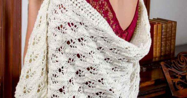 Knit A Shawl For Lady Mary With Downton Abbey Yarn