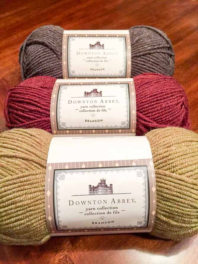 Branson in colors Lichen Green, Claret Red and Chestnut Brown.