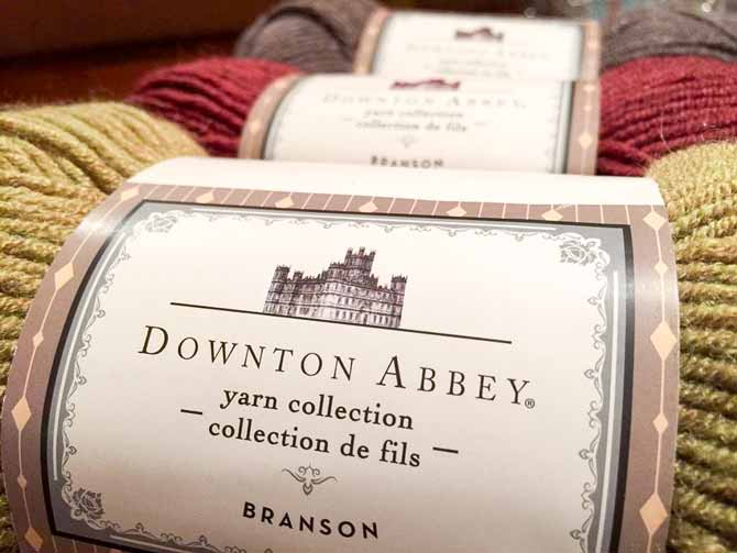 Branson, Downton Abbey inspired yarn