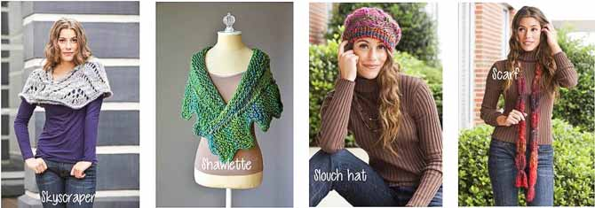 4 free patterns in Classic Shades Big Time