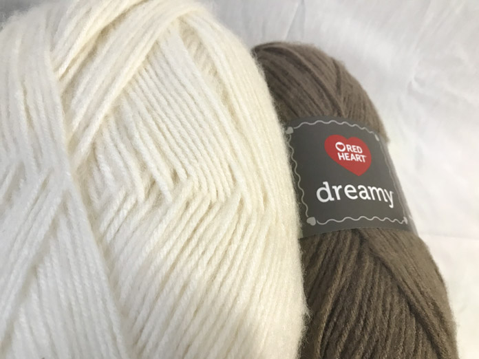The weight of this yarn is so versatile. You can use it for almost anything! It knits up very quickly.