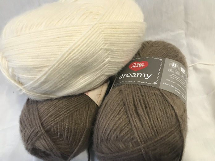 All that yardage, it's amazing what only a couple of balls will get you. If you're knitting a lot of baby blankets this is a great place to start.