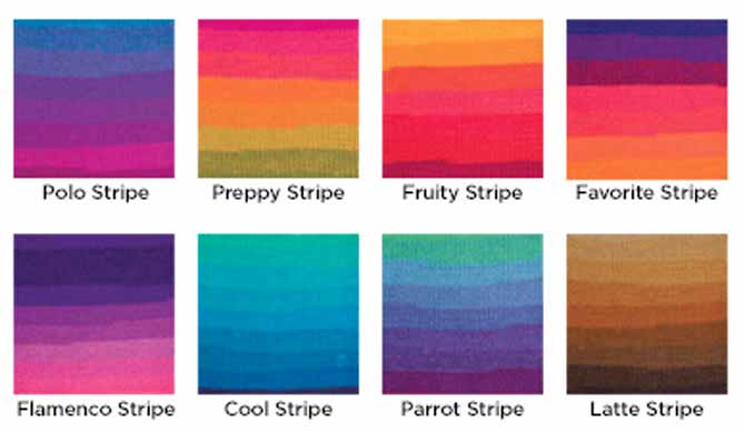 Introducing The New Super Saver Stripes Yarn