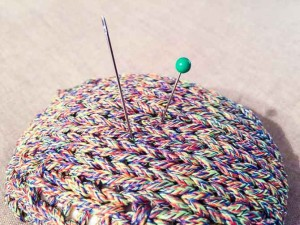 Pincushion in the color Sprout
