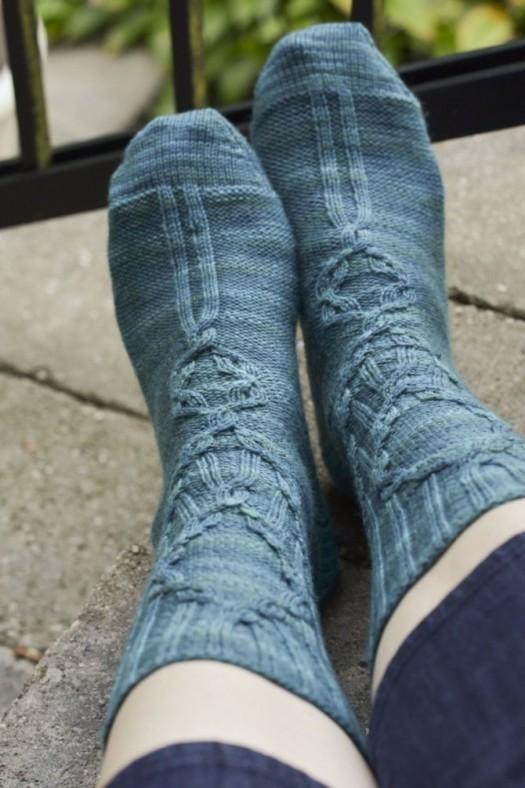 Finished Project: Rocaille Socks | Glenna Knits