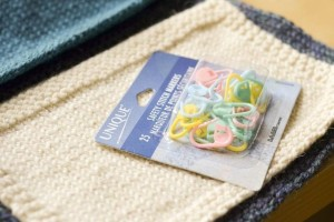 Stitch markers are very versatile tools to keep in your kit.