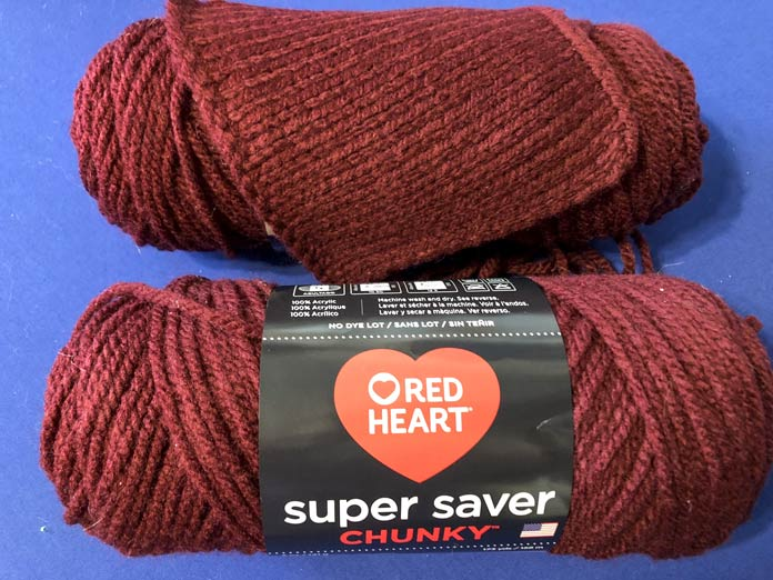 Super Saver Chunky in the color Claret