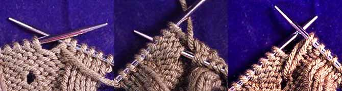 The tuck stitch