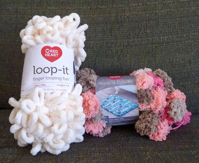 Loop-it and Pomp-a-Doodle make an interesting duo!