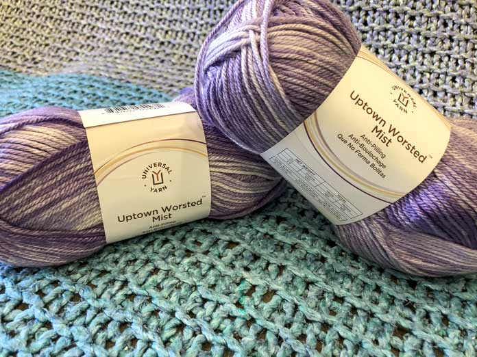 Uptown Worsted Mist in the color Lavender
