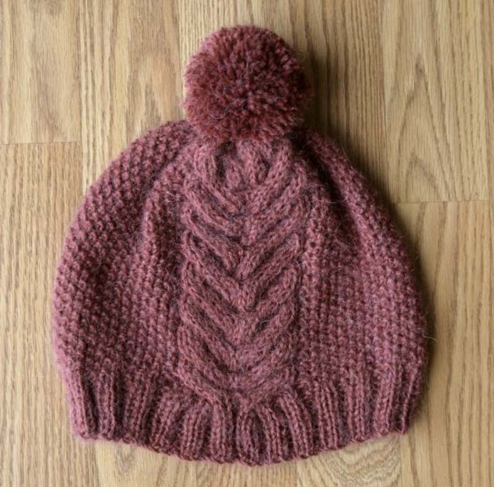 Knit The Victory Hat Pattern And Modify It For A Scarf
