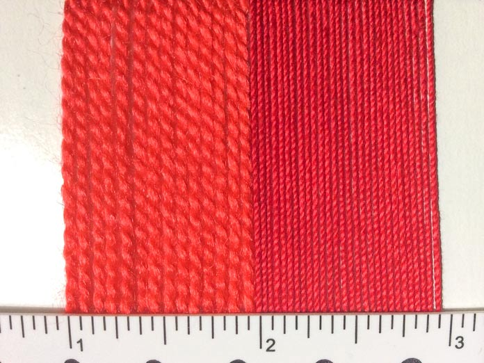 3 differences between knitting yarn and crochet thread